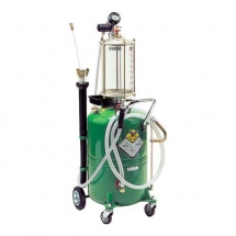 RAASM- AIR OPERATED DRAINER 80lt WITH GLASS
