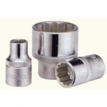 SOCKET 1/2'' POLYGON 25mm
