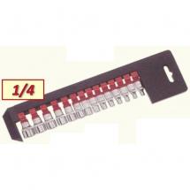 SOCKET SET 1/4'' SPLINE 2144Q