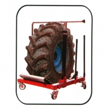 Hydraulic lift for wheels of  SPIN