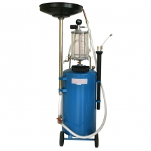 AIR OPERATED DRAINER 80lt WITH GLASS
