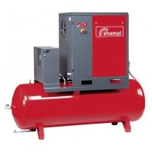 SHAMAL ROTARY SCREW AIR COMPRESSOR WITH DRYER STORM 11-13-500 ES